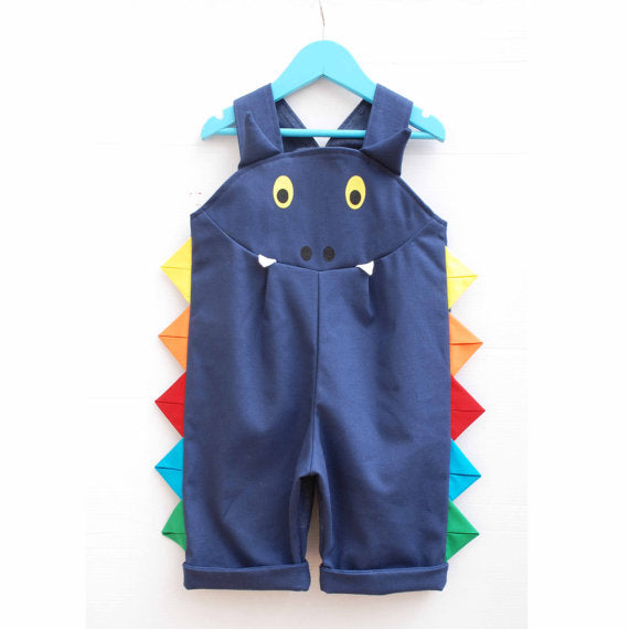 Dragon Rainbow Overalls