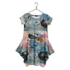 Bird Painting Kanto Dress, Adult