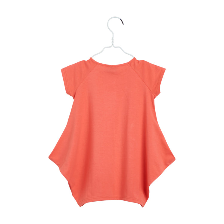 Kanto Dress in Tangerine