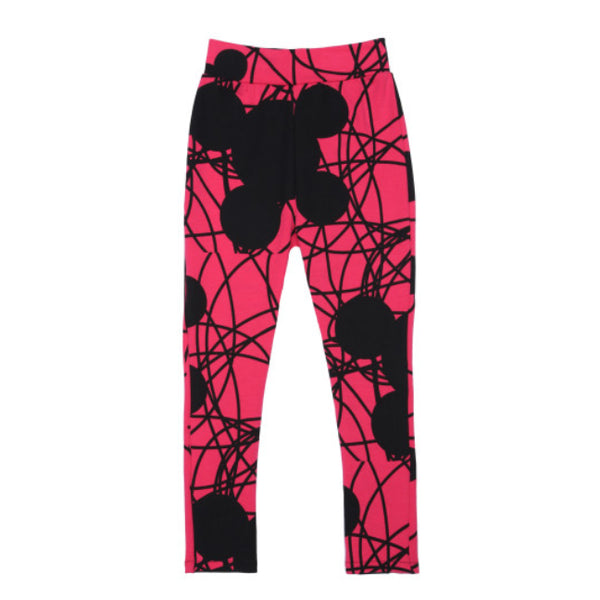 Mouse Leggings in Magenta