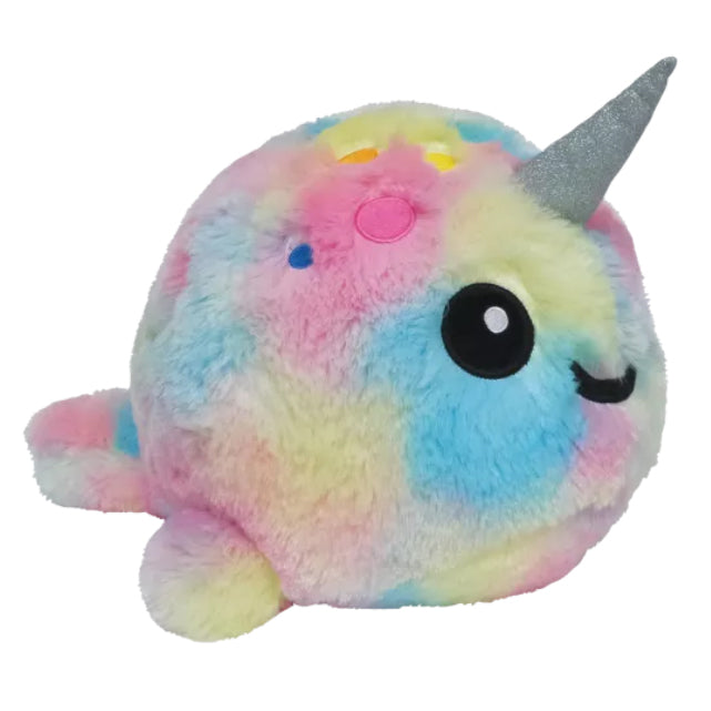 Tie Dye Narwhal Scented Stuffed Animal
