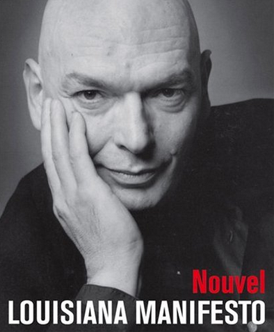 Book Nouvel Lousiana Manifesto, by Jean Nouvel, multilingual edition