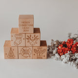 Personalised Christmas Blocks limited edition