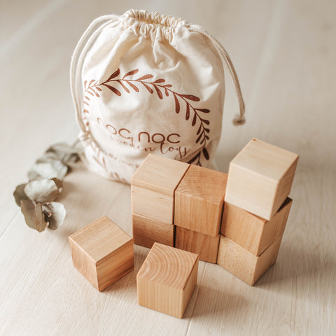 Original Wooden Blocks - noc noc wooden toys Blocks