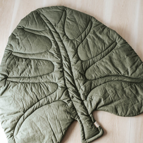 Leaf Play Mat - Organic Cotton - noc noc wooden toys Play Mat