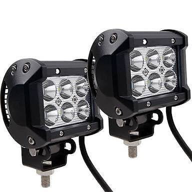 4 Inch 18 W LED Light Bar Set