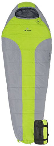TETON Sports Tracker +5F Ultralight Mummy Sleeping Bag