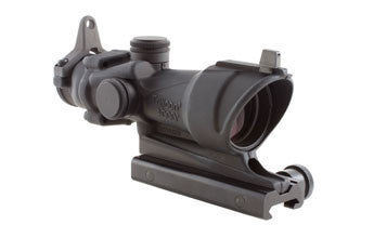 Trijicon TA01NSN  ACOG 4x32 Scope with Amber Center Illumination