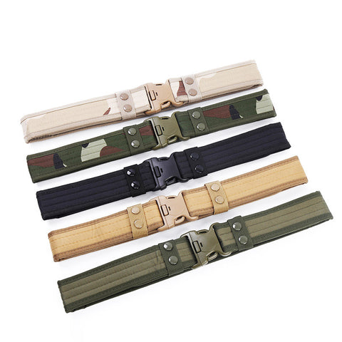 Tactical Military Belt for Camping
