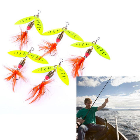 5pc fishing wobbler