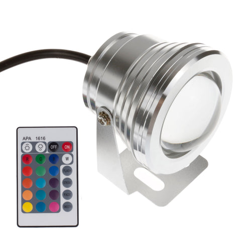 IP65 10W RGB LED Underwater Light Spotlight LED Light DC 12V