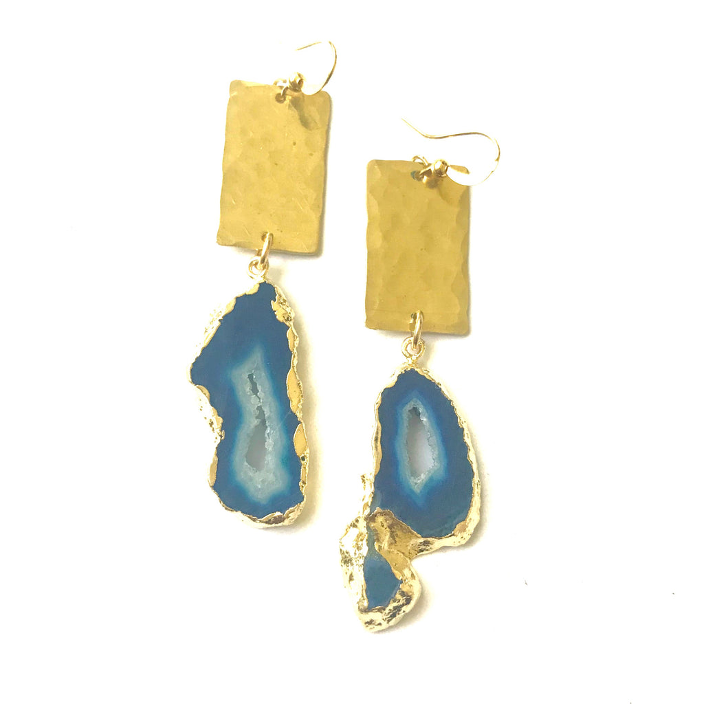 Hammered Bold Duzy Earrings