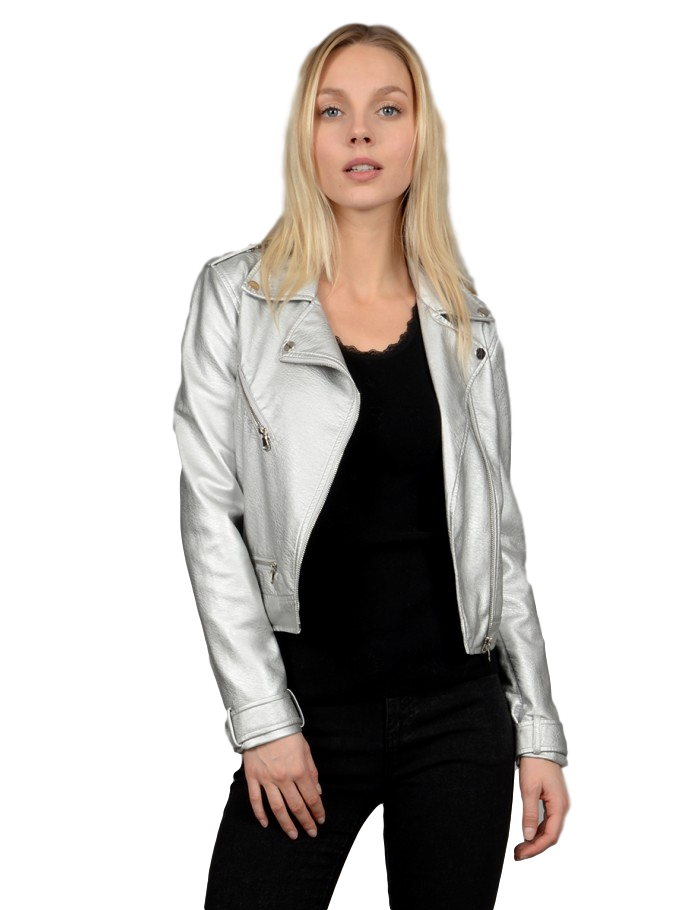Silver Woven Jacket