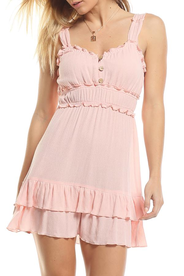 Shell Pink Mia Dress