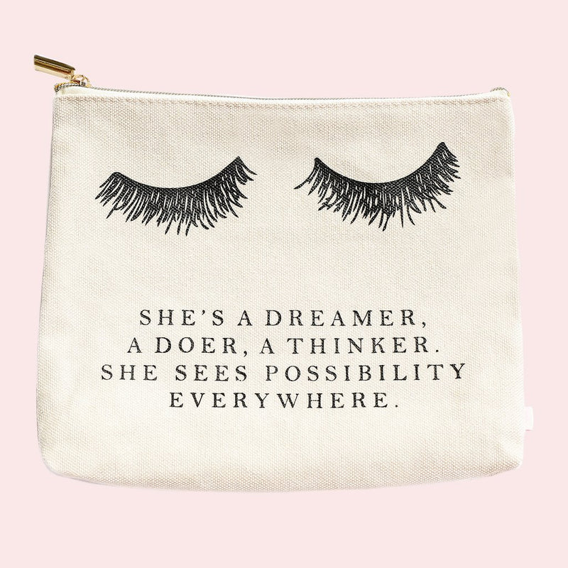 Sweet Water Decor - Eyelash Dreamer Makeup Bag