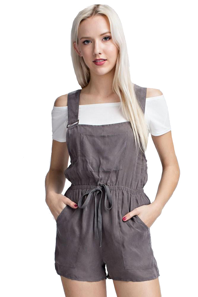 Overall Utility Romper