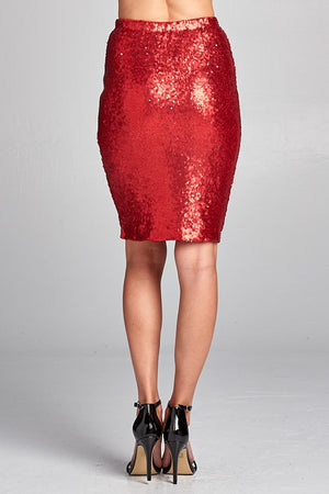 Sequins For Lovers Skirt