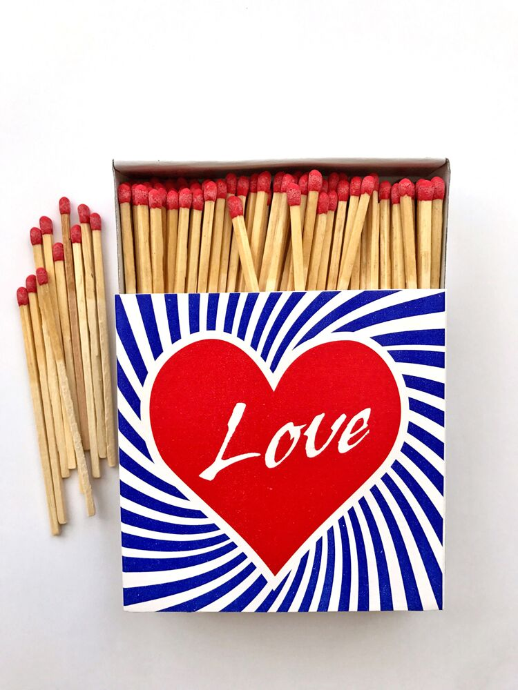 Love Heart Matchbox