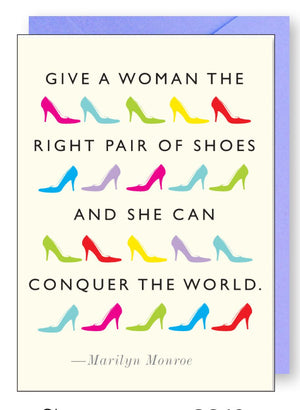 Shoes Quote