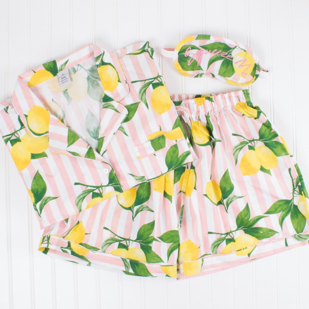 Lemon Pyjamas Set