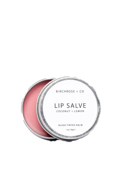 Birchrose + Co. - Lip Salve - Coconut + Lemon