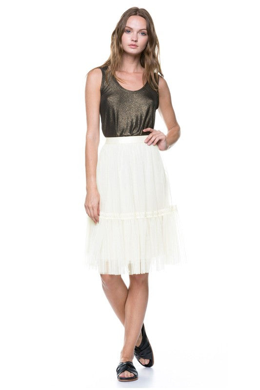 Tiered Ballet Tulle Skirt