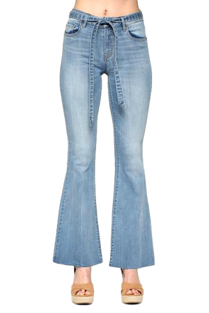 Happi Light Wash Flare Jeans