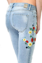 Daisy Distressed Jeans