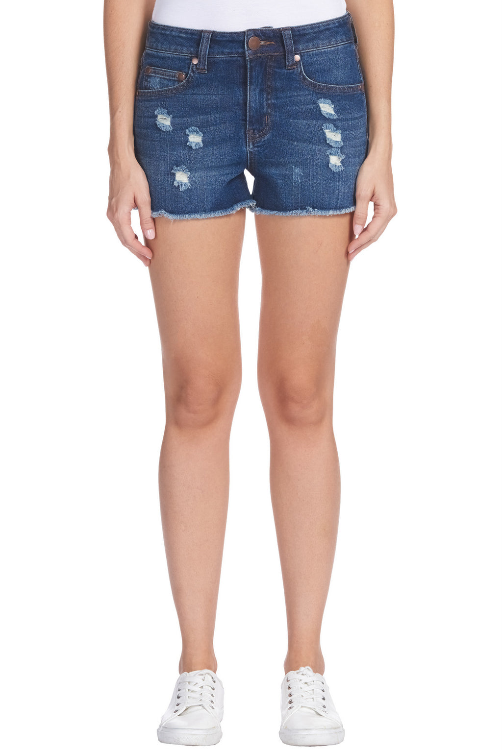 Elan Distressed Shorts