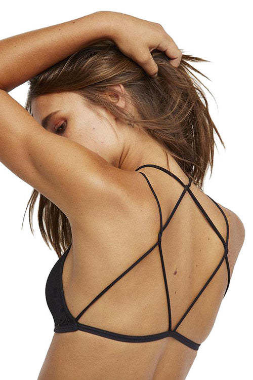 Hi-Neck Strappy Bra