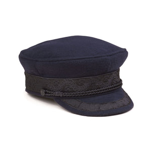 Riviera Cap- Navy/ Black