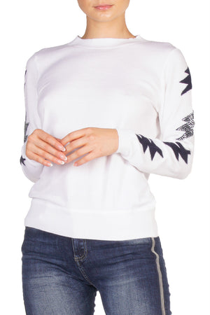 White Lightning Sweater
