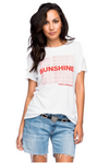 G-M Sunshine Loose Tee