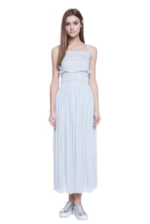 Gathered Maxi Dress