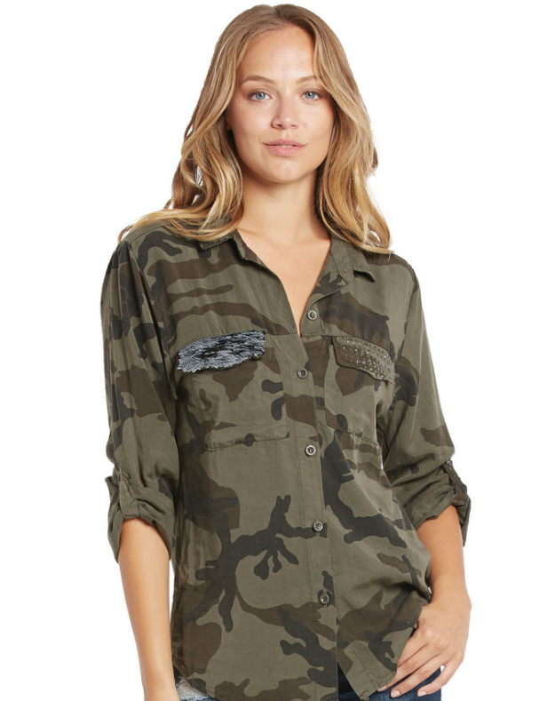 Military Button Up
