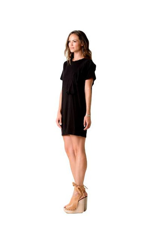 Julia Ruffle Shirt Dress