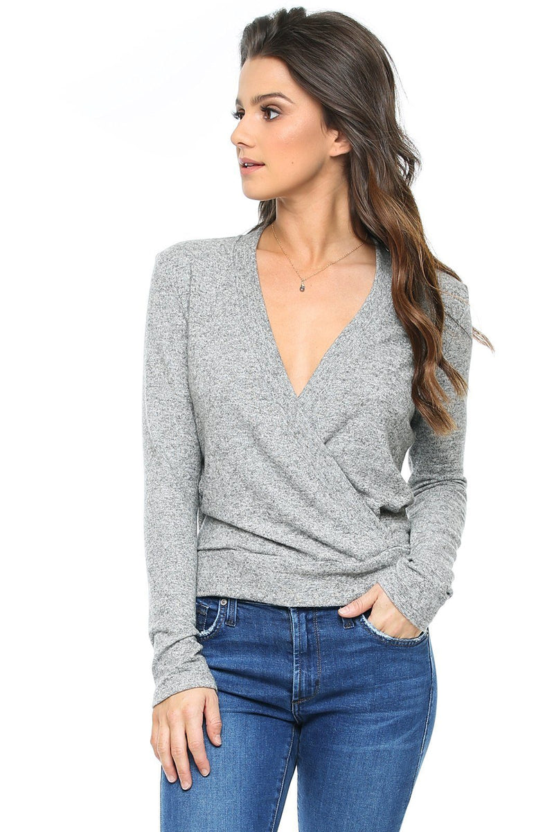 Vienna Deep V Sweater