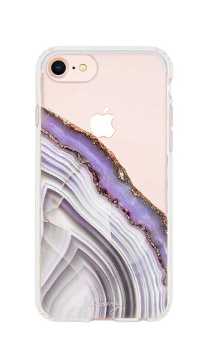 The Casery - Purple Agate iPhone Case
