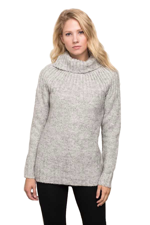 Turtle Neck Pullover Sweater