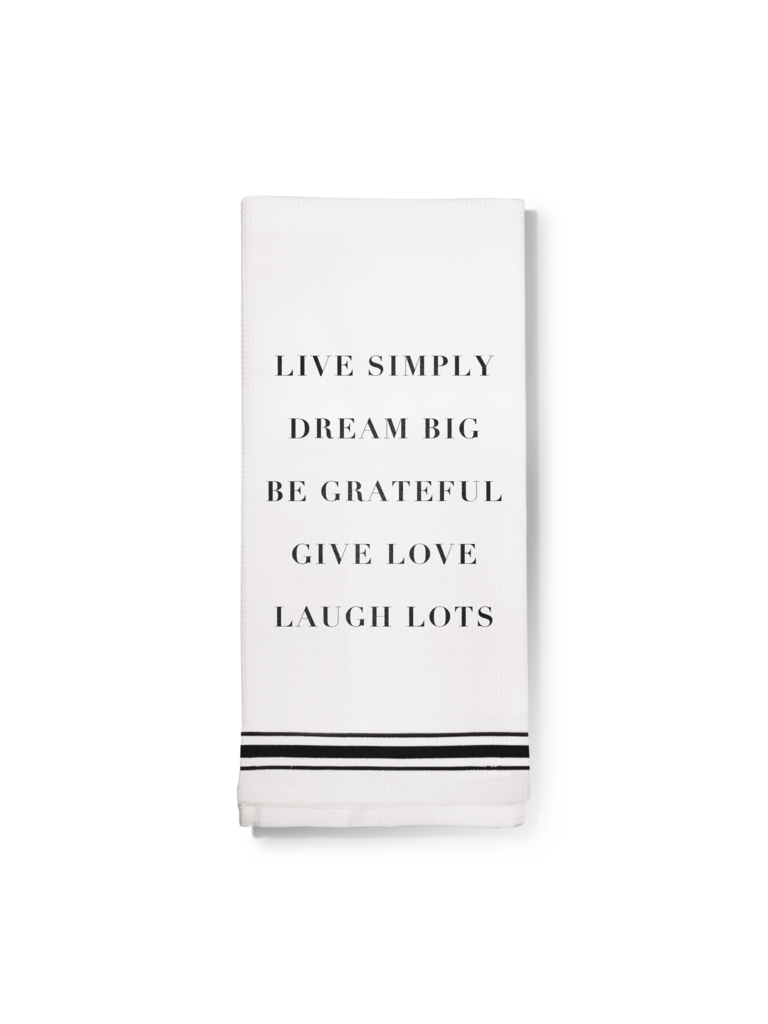 Live Simply Dish Towel