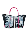 Spinning Tote Gray Camo/Hot Pink Linning
