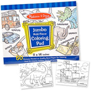 Jumbo Coloring Pad - Blue (11 X 14)