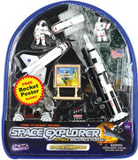 Space Explorer - Space Orbiter Backpack Playset 10 PCS