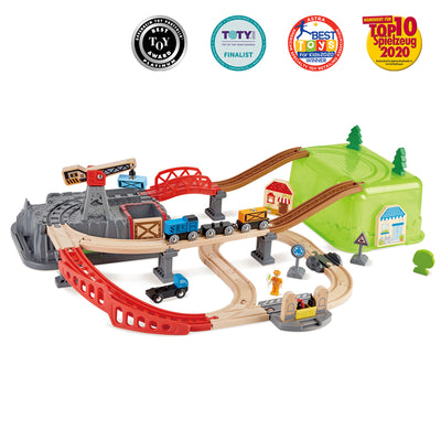 Railway Bucket Builder Set 50pcs