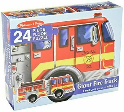 Giant Fire Truck Floor Puzzles 24 PCS