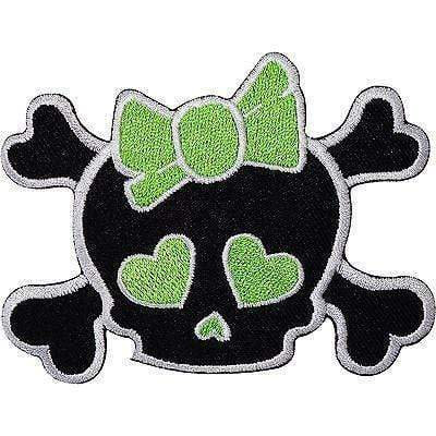 products/black-girl-skull-green-bow-heart-embroidered-iron-sew-on-patch-t-shirt-bag-badge-4253986160705.jpg