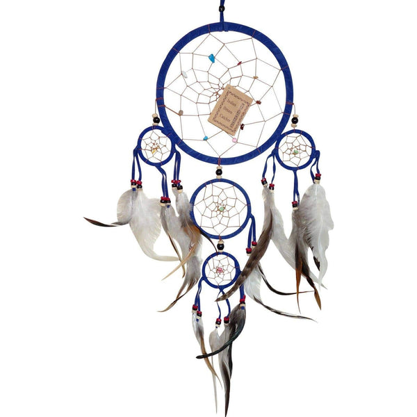 Blue Dreamcatcher Medium Boys Girls Childrens Kids Bedroom Furniture Decoration