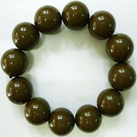 Elasticated Olive Green Brown Bracelet Wristband Bangle Womens Ladies Jewellery