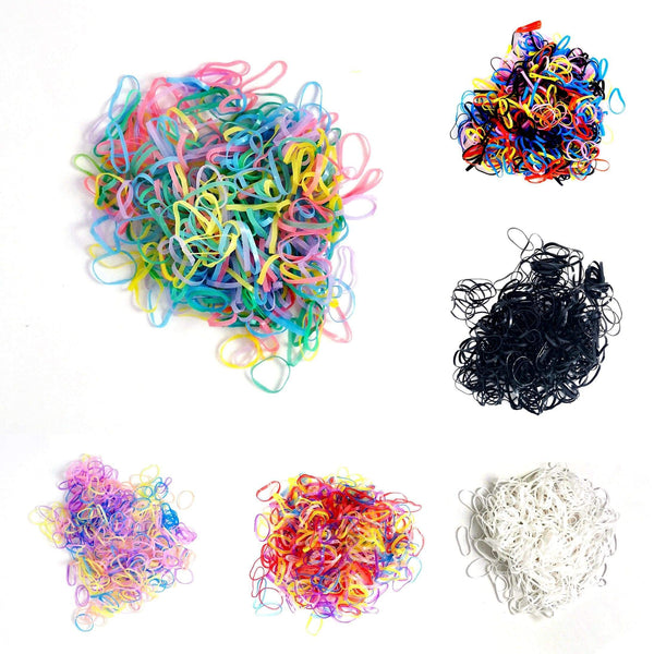 Hair Elastic Bands - 500 Quantity