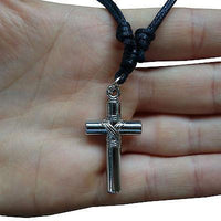 Jesus Crucifix Cross Pendant Chain Necklace Man Woman Boy Girl Kid Child Lady Jesus Crucifix Cross Pendant Chain Necklace Man Woman Boy Girl Kid Child Lady